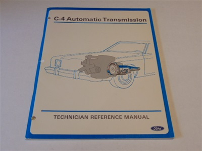 THE C4 AUTOMATIC TRANSMISSION TRAINING HANDBOOK