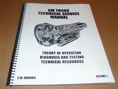 TH400 TECHNICAL MANUAL