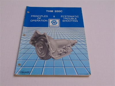 THM 200C PRINCIPLES OF OPERATION SECOND EDITION