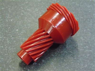 12 TOOTH SPEEDOMETER DRIVE GEAR RED