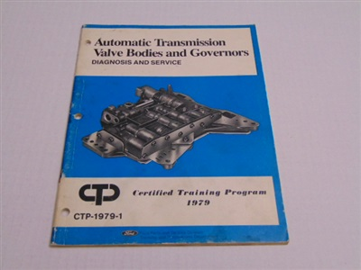 FORD AUTOMATIC TRANSMISSION VALVE BODIES AND GOVERNORS