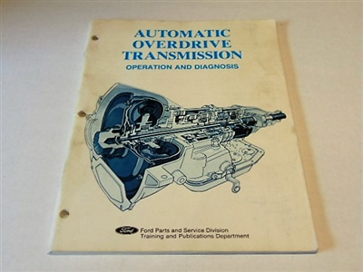 AOD  AUTOMATIC TRANSMISSION OPERATION AND DIAGNOSIS
