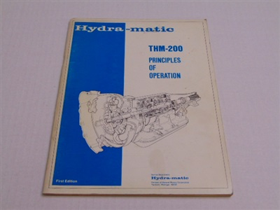 THM200 PRINCIPLES OF OPERATION FIRST EDITION